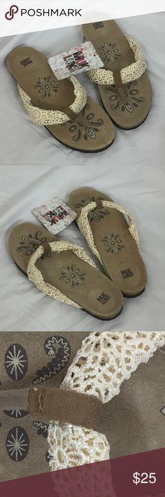 Spotted while shopping on Poshmark: Muk Luks Thong Sandals Size 9! #poshmark #fashion #shopping #style #Muk Luks #Shoes