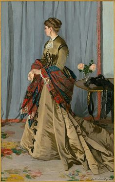 Claude Monet - Madame Louis Joachim Gaudibert, 1868