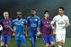 UEFA équipe type de l'année 2016 : les 40 nommés dévoilés !