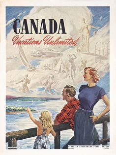 Canada - Vacations unlimited - 1955 - (G. W. Goss) -