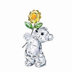 Swarovski Bear with Sunflower from Borsheims
