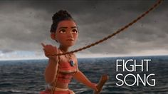 Moana || Fight Song Disney Songs, Disney Fun, Music Video Song, Music Videos, Rachel Platten Fight Song, I Wan, Song Artists, Brain Breaks, Greatest Songs