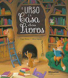 Capa do livro «O Urso e a Casa dos Livros»