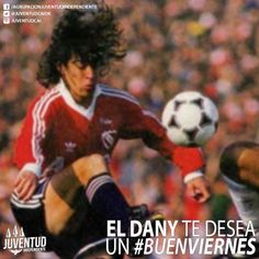 Buenos días Diablos! Tengan un #BuenViernes! #DanielGarnero, #Independiente, #IdolosIndependiente