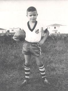 #Socrates com a camisa do #Santos ,1960