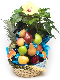 Custom kids easter gift basket designed by novel designs fruit and flower exclamation negle Gallery