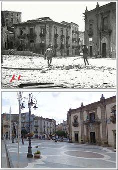 Prima Divisione Canadese e del 231 BDE (Brigata MALTA). #Regalbuto Enna  #AGOSTO1943 Piazza della Repubblica
