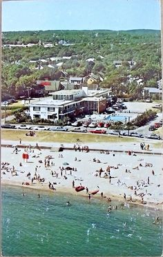 Vintage Falmouth Heights,Cape Cod, Massachusetts, Featuring Park Resort Motel PC |1971 @capecodinsta