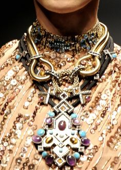 Lanvin  #necklace  #gold
