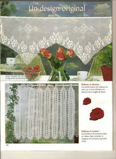 rideau au crochet elena - letricotdevero - Picasa Web Albums