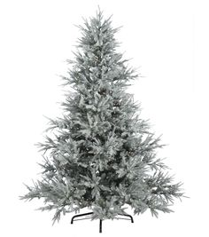 8ft Whispering Pine features 4249 tips and 700 LED clear lights. The light…