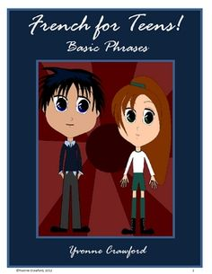 French for Teens - Basic Phrases is a booklet that introduces the first beginning phrases in French. Included: Vocabulary w. Work Activities, Teaching Activities, Hands On Activities, Teaching Kids, Spanish Activities, Spanish Phrases, French Phrases, Spanish Lessons, Spanish 1
