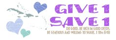 Give1Save1-Caribbean -- great adoption fundraiser organization with many ties to Haiti.  Love everything I've seen on this blog!