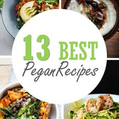 "As promised, here are the top 13 Pegan recipes from some of my favorite bloggers! The recipes aren't labeled ""Pegan"" but I carefully read through the ingredients and rightfully approved them. Most ..."