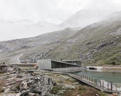 Reiulf Ramstad Architects, Rasmus Hjortshøj · Trollstigen Visitor Centre