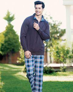 Şahinler Ekose Baskılı Pijama Takım Southern Prep, Prepping, Style, Fashion, Swag, Moda, Fashion Styles, Fashion Illustrations, Outfits