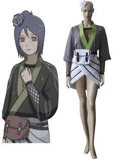 Naruto Konan Cosplay Costume
