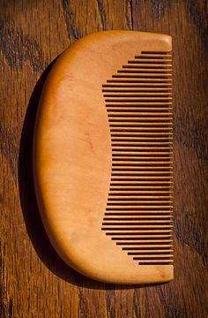 Bamboo comb....ok, not exactly wood...but it's replacing wood.
