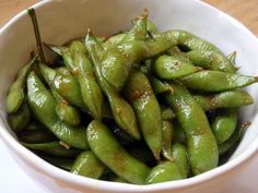 Wok-fried edamame based on Alan Wong's recipe; another option for Turtle Bay's Garlic Edamame?