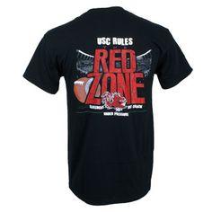 South Carolina Gamecocks Red Zone T-Shirt - Black #gamecocks