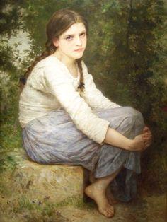 Day Dreams    William-Adolphe Bouguereau
