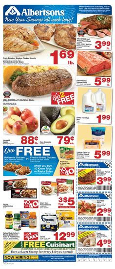 Albertsons Weekly Ad December 30 - January 5, 2016 - http://www.olcatalog.com/grocery/albertsons-weekly-ads.html