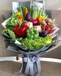 Vegetables Bouquet, You are in the right Food Bouquet, Gift Bouquet, Candy Bouquet, Vegetable Bouquet, Vegetable Basket, Fruit And Veg, Fruits And Vegetables, Veggies, Edible Arrangements