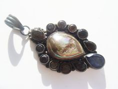 One of a Kind Titanium Druzy Necklace by JennKoDesign on Etsy