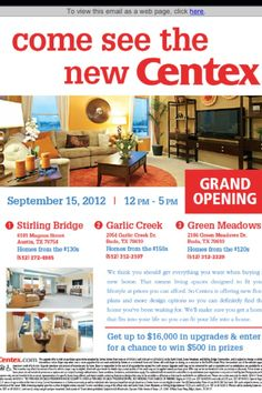 Stirling Bridge Austin Tx New Homes Centex Homes