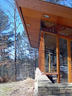 Seth Peterson Cottage, by Frank Lloyd Wright 20090312 4198 | Flickr - Photo Sharing!