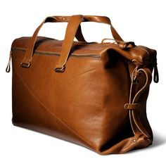 Hard Graft Double Take Weekend Bag / Heritage Trolley Bags, Well Dressed Men, Leather Craft, Leather Bags, Leather Luggage, Gentleman Style, Luggage Bags, Karl Lagerfeld, Men Dress