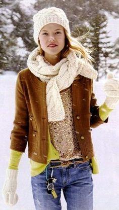 Invierno CHIC: 40 Stellar Street Style Trajes de Ahora Copia | StyleCaster