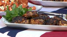 Barbecue expert chef Tim Love shares a crowd-pleasing grilled chicken thighs recipe that'll amp up any cookout.