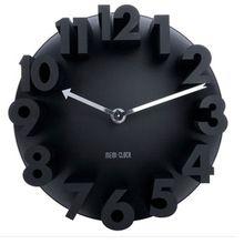 3D relief Dimensions mode numérique horloge horloges murales pour La Maison…