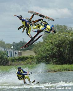 Sarasota Ski-A-Rees Water Ski Show Team - free family fun Sarasota Florida, Florida Home, Water Safety, Water Ski, Vintage Florida, Summer Bucket Lists, Skiing, How To Memorize Things, Horses