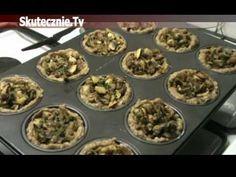 Mięsne gniazdka z farszem pieczarkowym, zapiekane z serem :: Skutecznie.Tv - YouTube