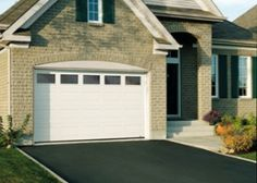 Image result for white garage doors with windows