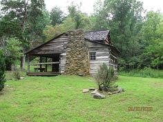 Walker sisters cabin.