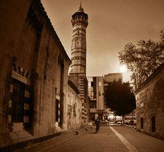 Adana Ulucami by sirdash on DeviantArt Here I Go Again, Most Beautiful Cities, Street View, Deviantart, Explore, City, Modern, Trendy Tree, Cities