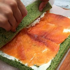 Sports Food, Salmon Dishes, Cooking Recipes, Healthy Recipes, Weird Food, Snacks Für Party, Appetisers, I Foods, Food Videos