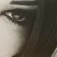 I Can See You  • Eye Pencil Drawing