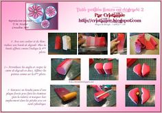 Fimo Crystal clear, tutorial and polymer jewelry: +1: Flower Petal Tutorial Part 1