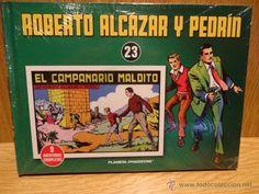 ROBERTO ALCÁZAR Y PEDRÍN. TOMO 23. EDITORIAL PLANETA - 2010 / PRECINTADO