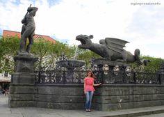 Lindwurm, Kärnten Austria, Statue Of Liberty, Lion Sculpture, Traveling, Europe, Art, Kite, Nice Asses, Statue Of Liberty Facts