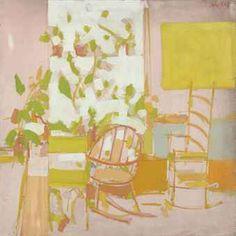 Alex Katz, Porch, 1958