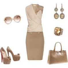 """""""Taupe"""" by danasq on Polyvore"""