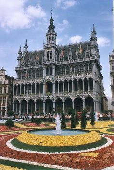 Flower Carpet, Brussels, Belgium