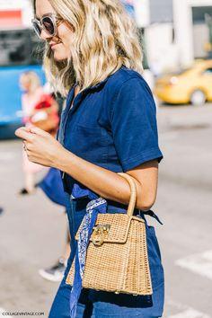 The Fashion Magpie // Bandana Street Style.