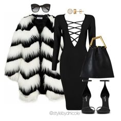 """""""Untitled #3123"""" by stylebydnicole ❤ liked on Polyvore featuring Ziggy, Posh Girl, Yves Saint Laurent, Dolce&Gabbana, women's clothing, women's fashion, women, female, woman and misses"""