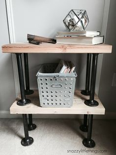 Industrial diy furniture industrial plumbers pipe end tables diy industrial pipe furniture and decor Diy Industrial Interior, Industrial Interior Design, Industrial House, Industrial Furniture, Industrial Décor, Industrial Bedroom, Industrial Lighting, Vintage Lighting, Rustic Furniture